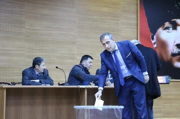 İspir ilçesinde Muhtarlar Dernek Başkanlığına Yaşar Dursun seçildi