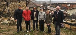 Köyün tek sakinleri olan yaşlı çifte anlamlı ziyaret