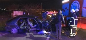 Tekirdağ'da tır ile otomobil çarpıştı: 6 yaralı