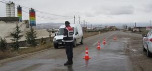 Sandıklı'da hız kesici kasislerle trafik kazalarının önüne geçilecek