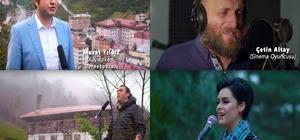"""Böyle ilçe tanıtımı görülmedi Trabzon'un Dernekpazarı ilçesinin kültürel tanıtımı için hazırlanan """"Hayde Dernekpazarı"""" isimli müzikal tanıtım klibi, büyük beğeni topladı Klipte ünlü isimler de yer aldı"""