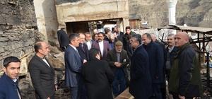 Başkan Karataş'tan geçmiş olsun ziyareti