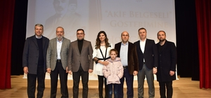 Biga, Mehmet Akif Ersoy'u andı