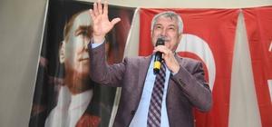 """Karalar: """"O sihirli değneği bulup başarılı olacağız"""" Adana Büyükşehir Belediye Başkanı Zeydan Karalar, ağır borca ve aylık açığa rağmen, sorunları bir bir aşarak, halka hizmet için yoğun şekilde çalıştıklarını söyledi"""