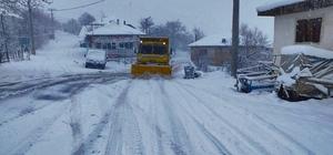Denizli Büyükşehir Belediyesi'nden kar mesaisi