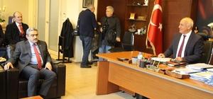 Alıcık'tan Başkan Tuncer'e ziyaret