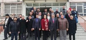 MHP İl Başkanı Haluk Alıcık Söke'de ziyaretlerde bulundu