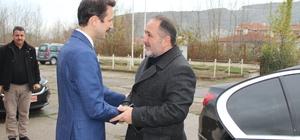 Murat Demir'den Kaymakam Açıkgöz'e ziyaret