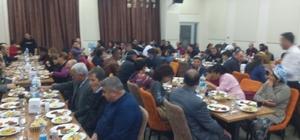 Arguvan Belediyesi, çalışanlarıyla yılbaşını kutladı