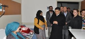 Erciş Belediyesinden yeni yılın ilk bebeklerine ilk hediyeler