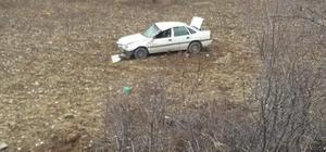 Afyonkarahisar'da trafik kazası: 1 yaralı