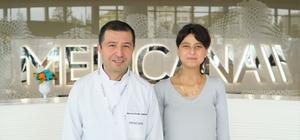 Gürcistan'dan geldi, Bursa'da sağlığına kavuştu