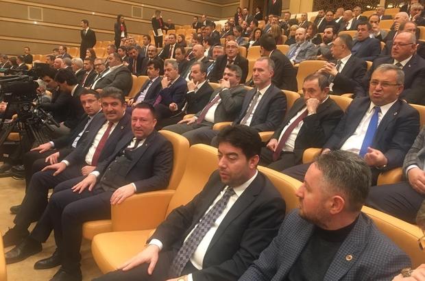 Başkan Beyoğlu Cumhurbaşkanlığı Külliyesi'nde düzenlenen 'Şehir Güvenliği Sempozyumuna' katıldı