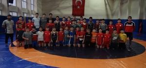 Geleceğin güreşçileri Yozgat'ta yetişiyor