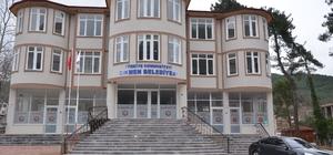 Yeni belediye binasına hizmete açıldı