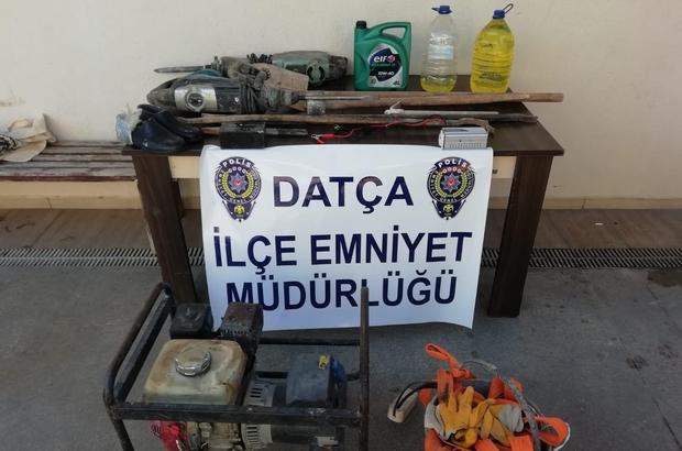 Datça'da suçüstü yakalanan 6 defineci serbest kaldı