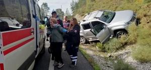 Kızılyaka'da kaza Muğla'da direksiyon hakimiyetini kaybeden 77 yaşındaki sürücü kazada hafif yaralandı.