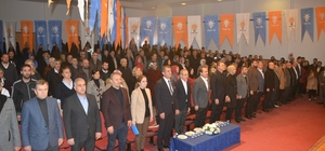 """Başkan Sürekli: """"O hastane oraya yapılacak"""" AK Parti Aliağa İlçe Danışma Toplantısı yapıldı"""