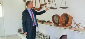 5 ayda toplanan 500 parça eşya ile müze kuruldu