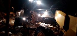 Malatya'da kar'dan 226 kırsal mahalle yolu kapalı