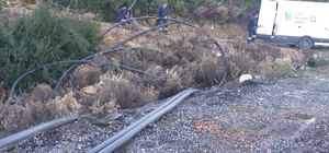 Gündoğmuş Güneycik'in içme suyu sorunu çözülüyor 1200 metrelik yeni hat yapılıyor