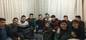 AK Parti Köşk Gençlik Kolları'ndan örnek davranış
