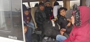 Çanakkale'de 108 mülteci yakalandı