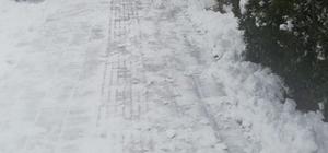 Pazaryeri'ne yol temizleme çalışmaları devam ediyor
