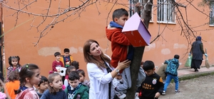 Diyarbakır'dan Kuşlara Bir Damla Umut Projesine destek