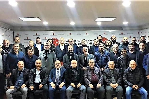 Aydın MHP'nin yeni yönetimi görev bölümünü tamamladı