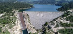 Yağışlar Bayramdere barajına hayat veriyor