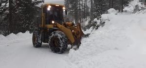 Karla mücadele hız kesmiyor