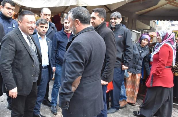 Bağlar Belediyesi'nden Sakarya Caddesi'ne kış önlemi