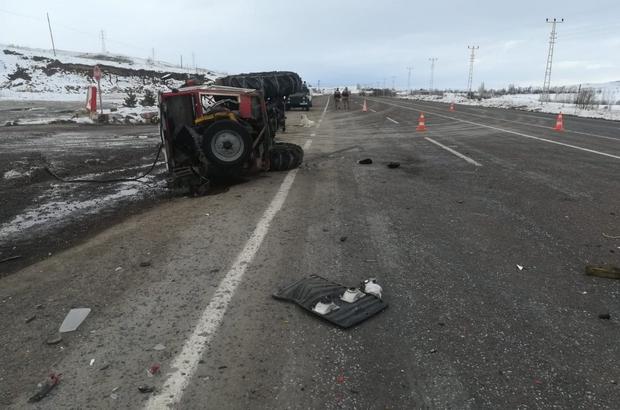 Gölova'da trafik kazası 2 yaralı