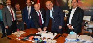 Söke Belediyesi ile Belediye-İş arasında toplu sözleşme imzalandı