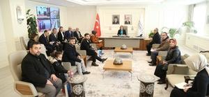 """Belediye Başkanı Fatma Şahin halk buluşmasında Gaziantep Büyükşehir Belediye Başkanı Fatma Şahin: """"2 bin metrekarelik park yapacağız"""""""