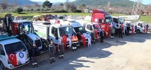 Ula Belediyesinin araç parkına takviye Çevre ve Şehircilik Bakanlığı'nın katkıları sonucu Ula Belediyesi'nin araç parkına 9 yeni araç katıldı.