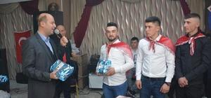 Ortapınar köyü asker adayları için eğlence programı