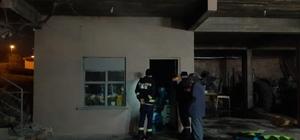Kazan dairesindeki yangın paniğe sebep oldu