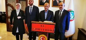 """Ulaştırma ve Altyapı Bakanı Mehmet Cahit Turhan Yalova'da """"Karayolları üzerindeki tünel uzunluğu 500 kilometreye ulaştı"""""""