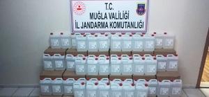 Kaçak alkol yapımında kullanılacak etil alkol ele geçirildi