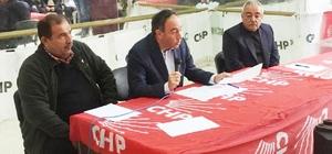 CHP Karataş İlçe Başkanlığına Cengiz Şimşek yeniden seçildi