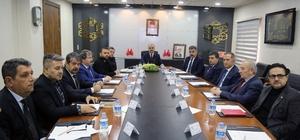İl Spor Güvenlik Kurulu Toplantısı Vali Günaydın Başkanlığında Yapıldı