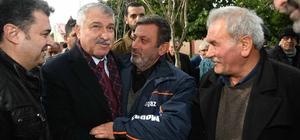 Karalar, Karataş için seferberlik başlattı Adana Büyükşehir Belediye Başkanı Zeydan Karalar, su isale hattının temelinin atılmasının ardından, yarım asırdır yapılması beklenen arıtma tesisinin inşaatı için düğmeye basıldığını söyledi