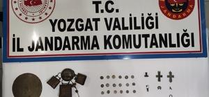 Yozgat'ta 31 parça tarihi eser ele geçirildi