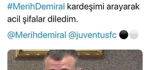 Merih Demiral'ın sakatlığı memleketi Kocaeli'yi hüzne boğdu Kocaeli Büyükşehir Belediye Başkanı Tahir Büyükakın'ı telefonla aradı