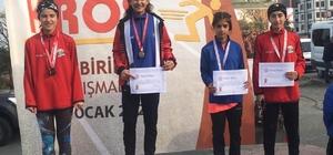 Eksi 30 derecede gelen bölge birinciliği Zinnet İlbi, eksi 30 derecede yaptığı antrenmanla Rize'den bölge birinciliği kazandı