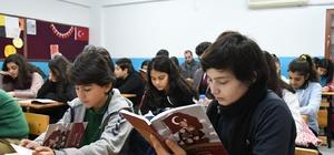 """""""Ata'ya Selam Olsun"""" projesi kapsamında kitaplar okunmaya başlandı"""