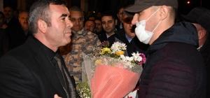 Bursalı gaziye coşkulu karşılama Barış Pınarı Harekatı gazisi baba ocağına döndü