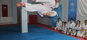 """(Özel haber) İşitme engelli milli karateci Sabri Kıroğlu, Dünya Şampiyonası'na hazırlanıyor Sabri Kıroğlu: """"Hedefim Düzce'den olimpiyat şampiyonu çıkarmak"""""""